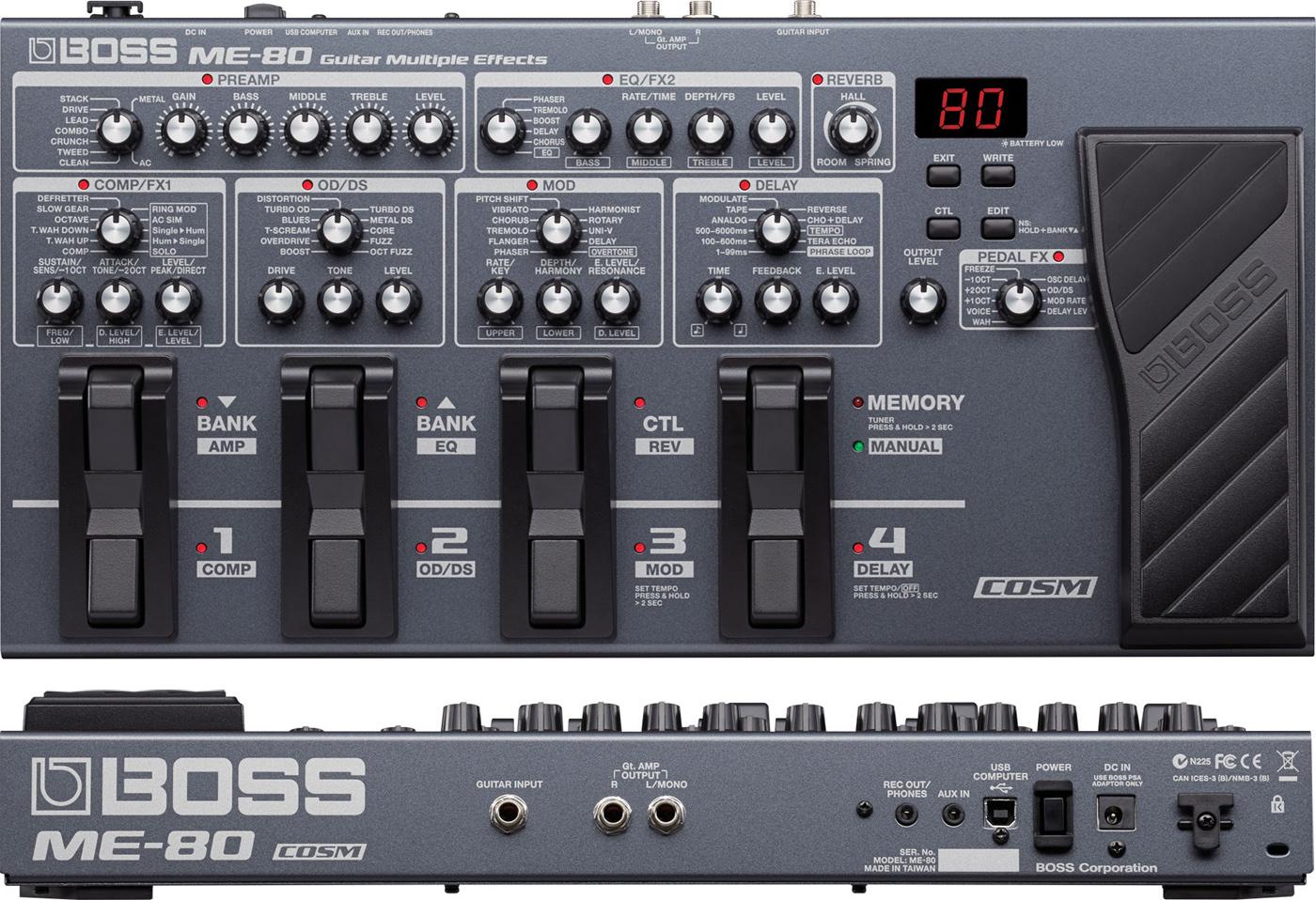 Boss ME-80
