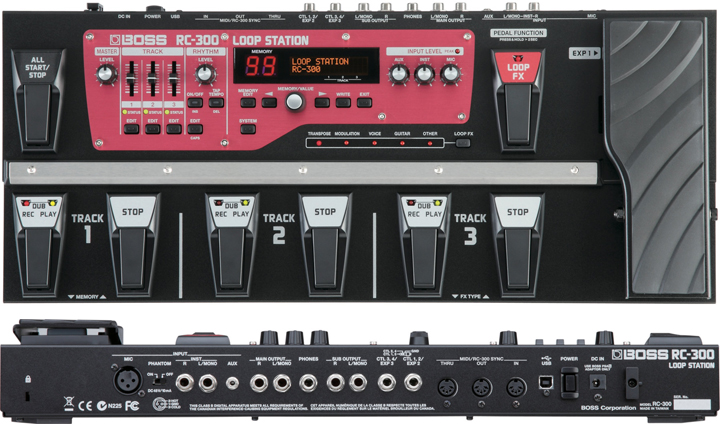 Boss RC-300 Looper Station with Vocal Effects