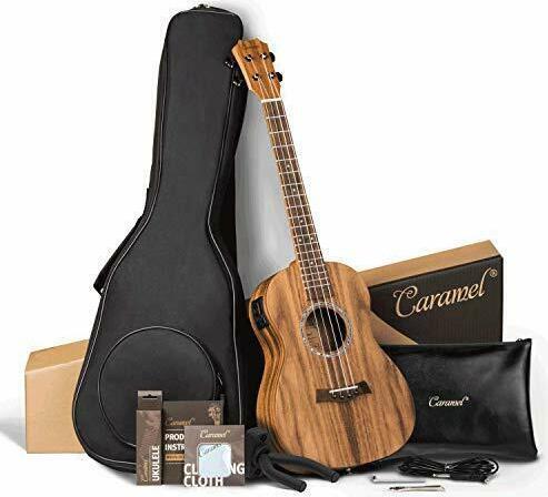 Caramel CB207 Baritone Acoustic-Electric Ukulele