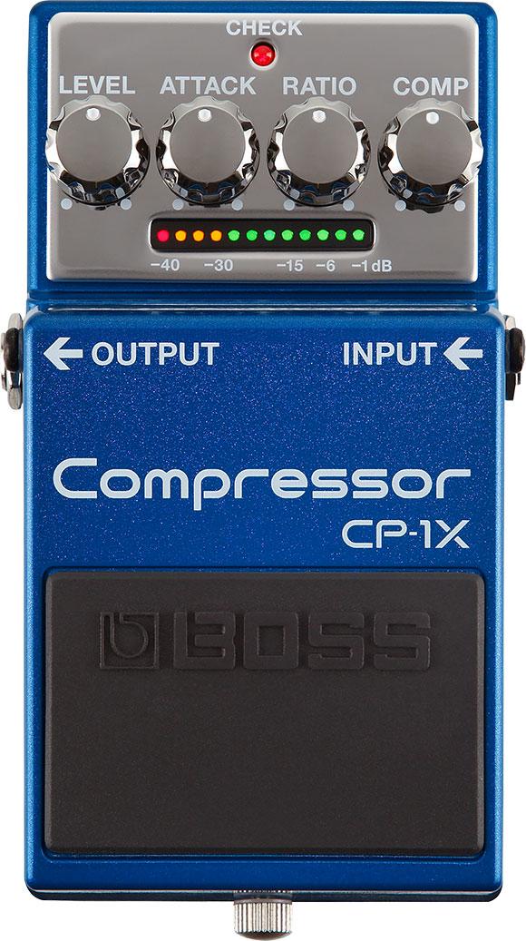 Boss CP-1X Guitar Compressor Pedal