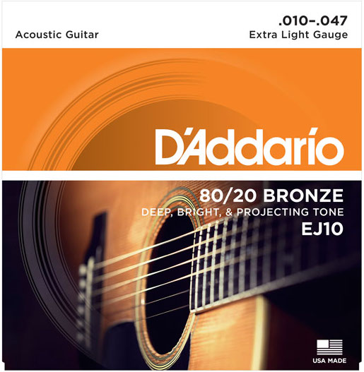The Best Acoustic Guitar Strings Extra Light Light Medium Heavy 2021 Gearank