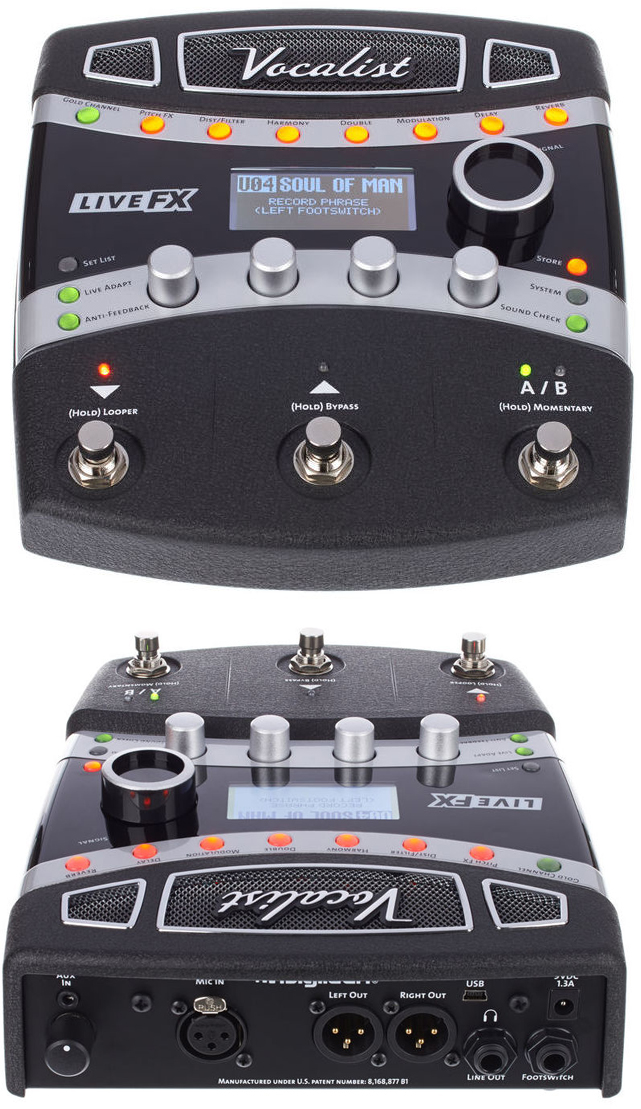 best vocal effects pedal processor guide gearank. Black Bedroom Furniture Sets. Home Design Ideas