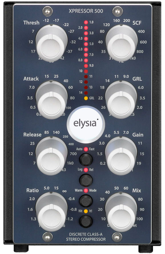 elysia xpressor 500 Series Stereo Compressor