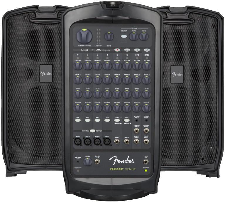 Fender Passport Venue Portable PA System