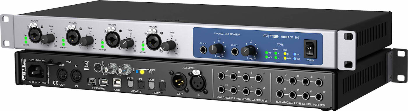 The Best USB Audio Interfaces - 4 / 8 / 16 Channel - Jan