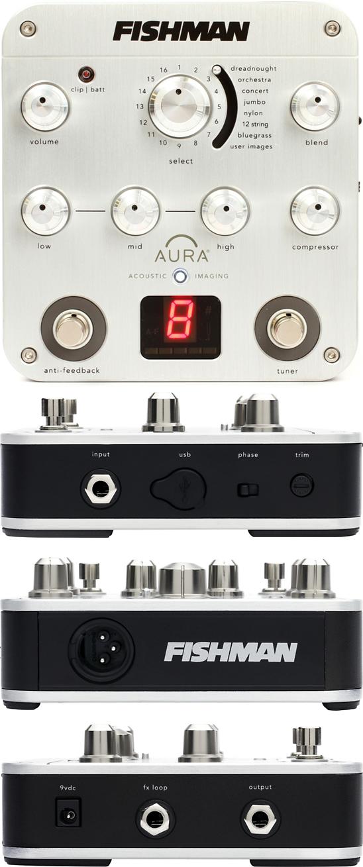 Fishman Aura Spectrum DI Acoustic Preamp Pedal