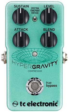 TC Electronic HyperGravity Guitar Compressor Pedal