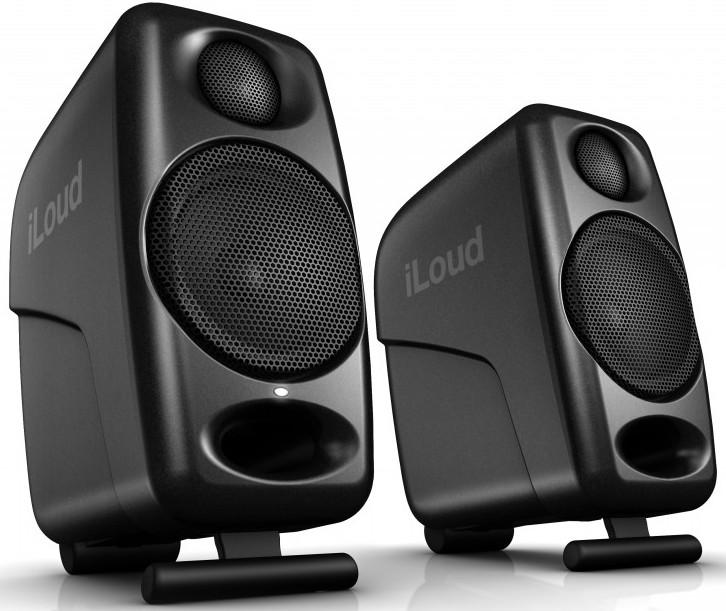 "IK Multimedia iLoud Micro Monitors 50W 3"" Powered Studio Monitor"