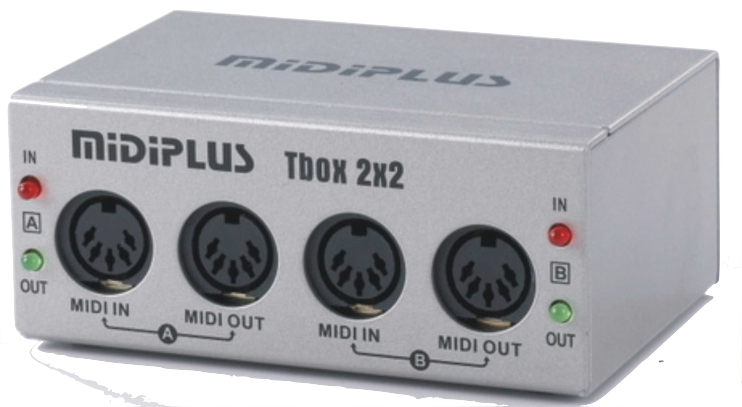 midiplus Tbox 2X2 USB MIDI Interfaces