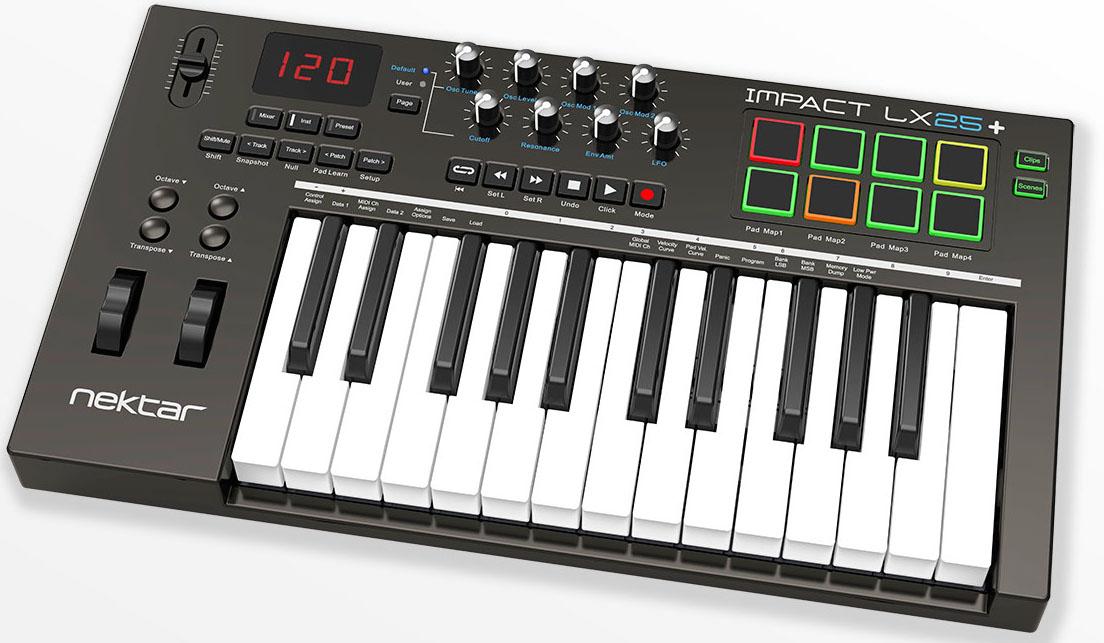 the best 25 key midi controller keyboards 2017 gearank. Black Bedroom Furniture Sets. Home Design Ideas