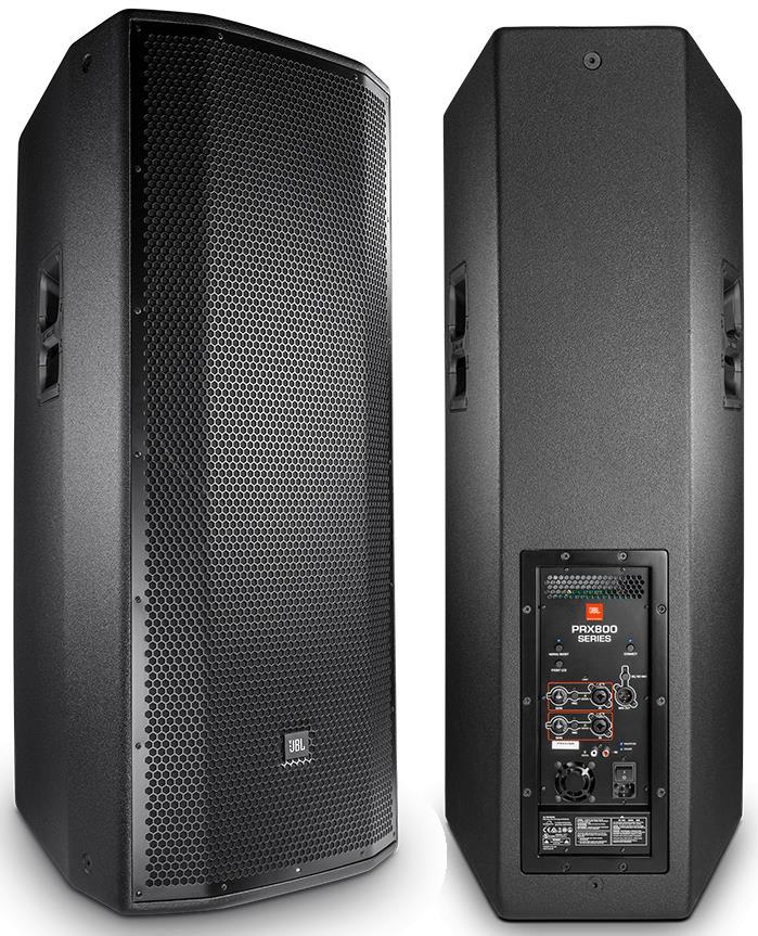 "JBL PRX825W 1500W Dual 15"" 2-Way Powered PA Speaker"