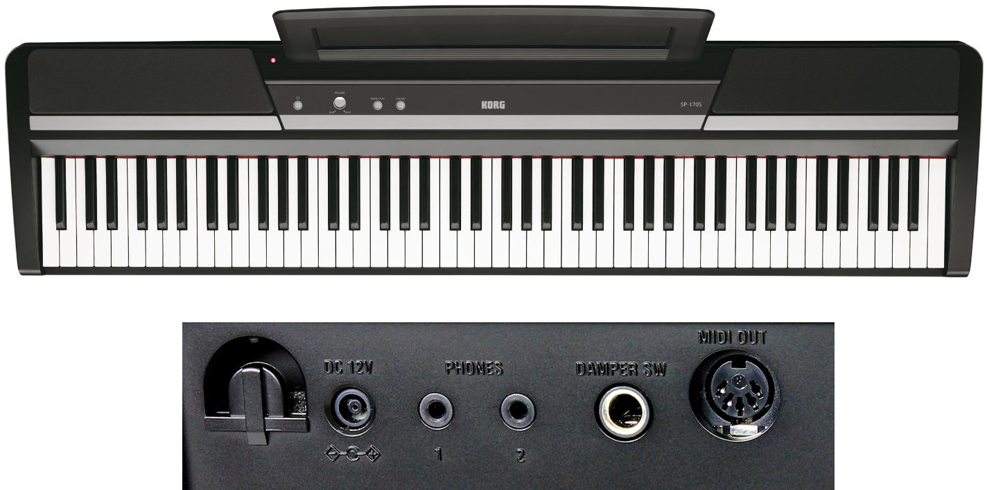 Korg SP170s 88-Key Digital Piano