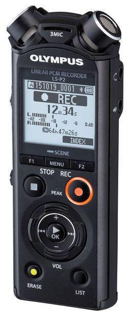 Olympus LS-P2 PCM Recorder - Handheld