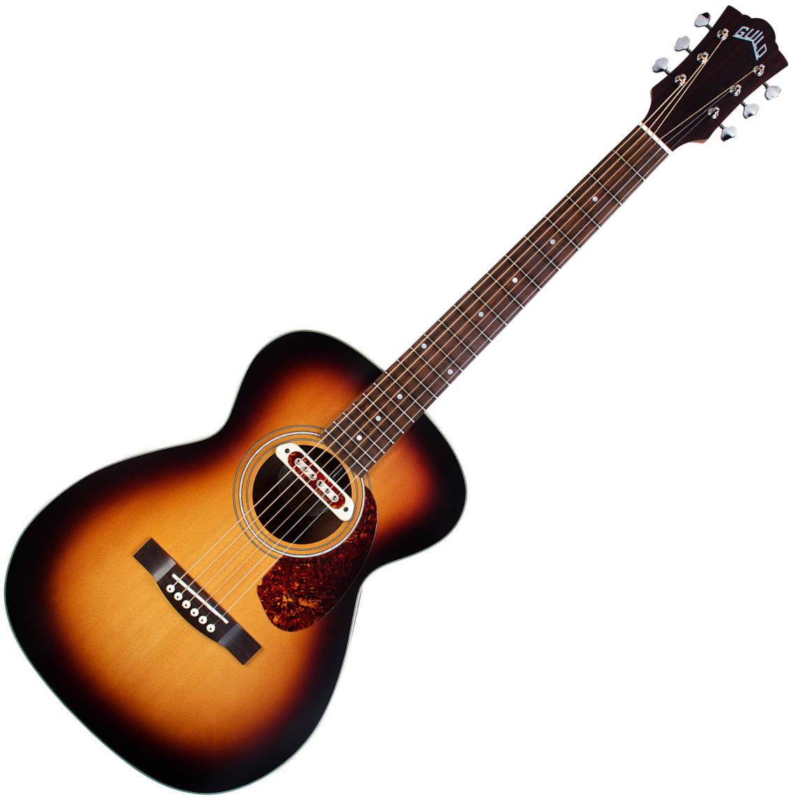 Guild M-240E Troubadour 6 String Acoustic-Electric Guitar