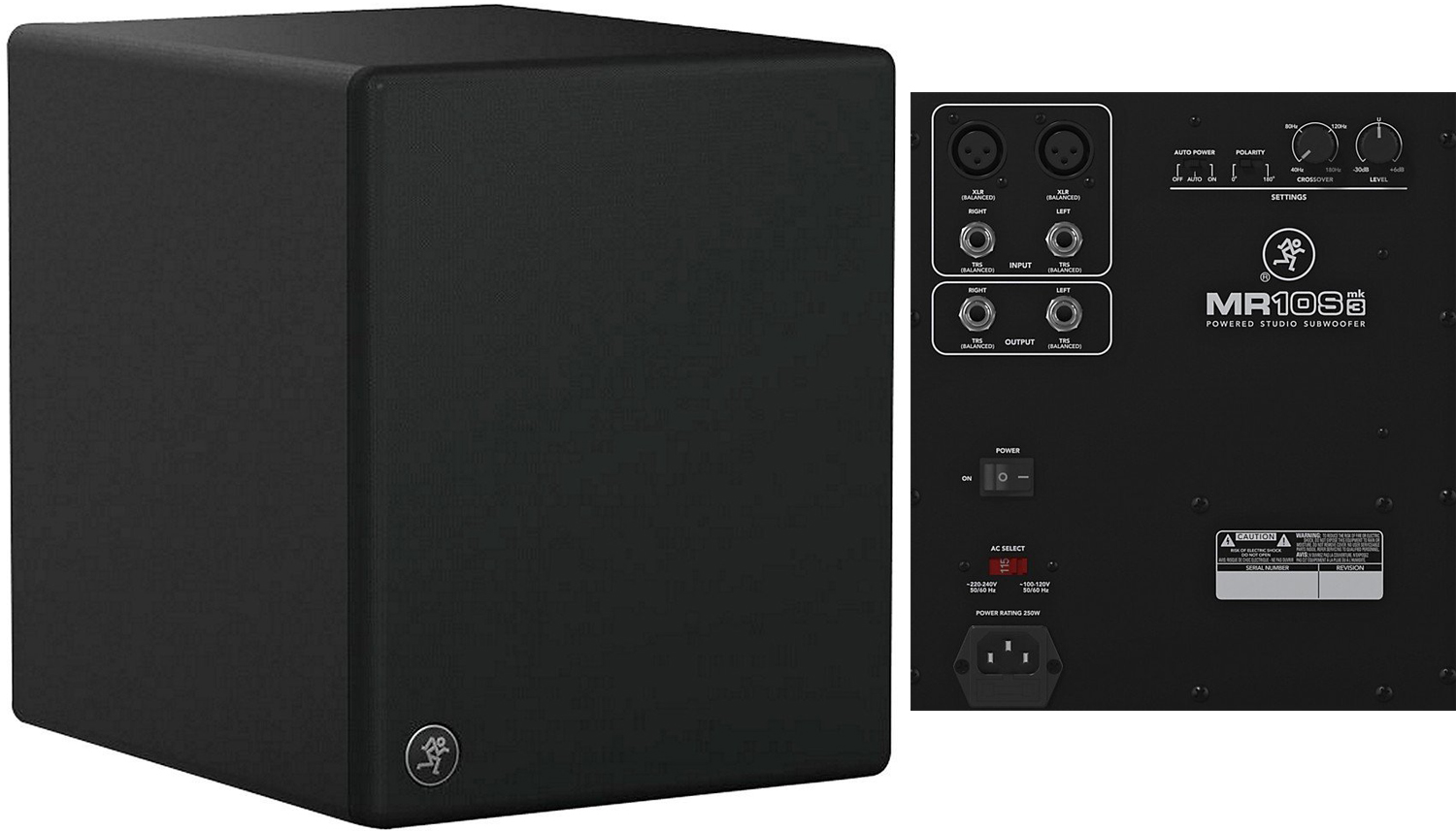 Mackie MR10Smk3 Studio Monitor Subwoofer