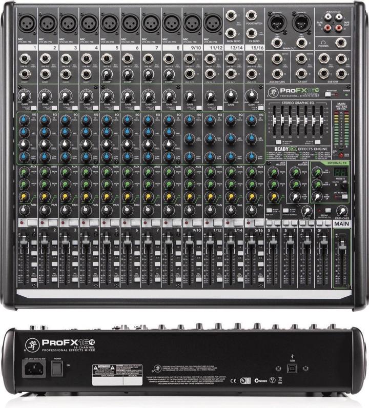 Mackie ProFX16v2 Audio Mixer