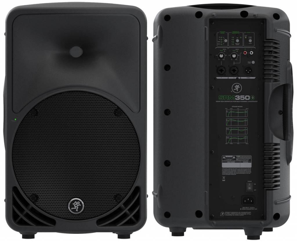 "Mackie SRM350v3 10"" 1000W Powered Loudspeaker"