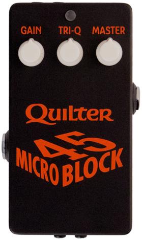 Quilter Labs MicroBlock 45 45-Watt Guitar Amp Head Pedal