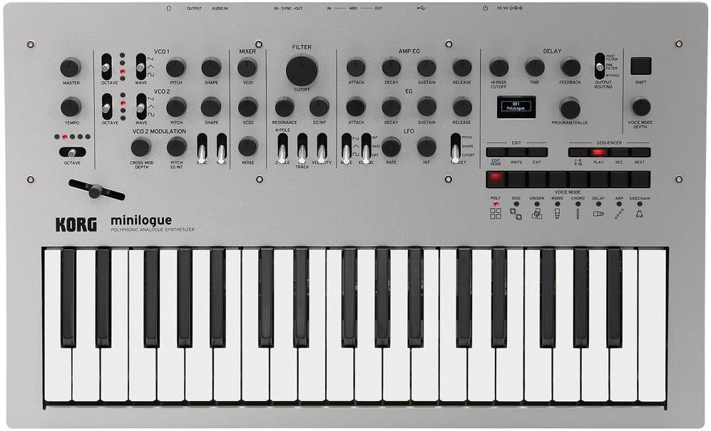 Korg minilogue Analog Synthesizer Keyboard