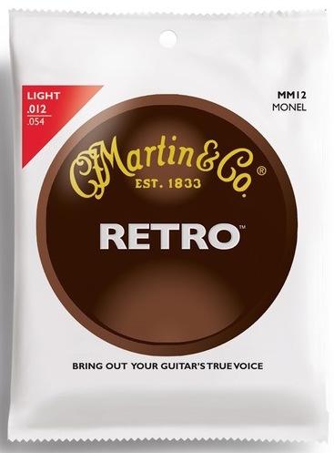 Martin MM12 Retro Light Acoustic Guitar Strings