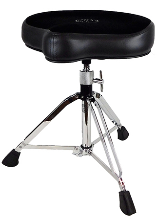 Roc-N-Soc Manual Spindle Original Saddle Drum Throne