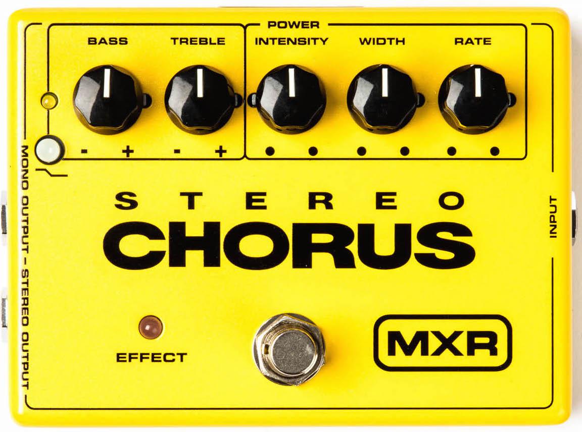 MXR M134 Stereo Chorus Pedal