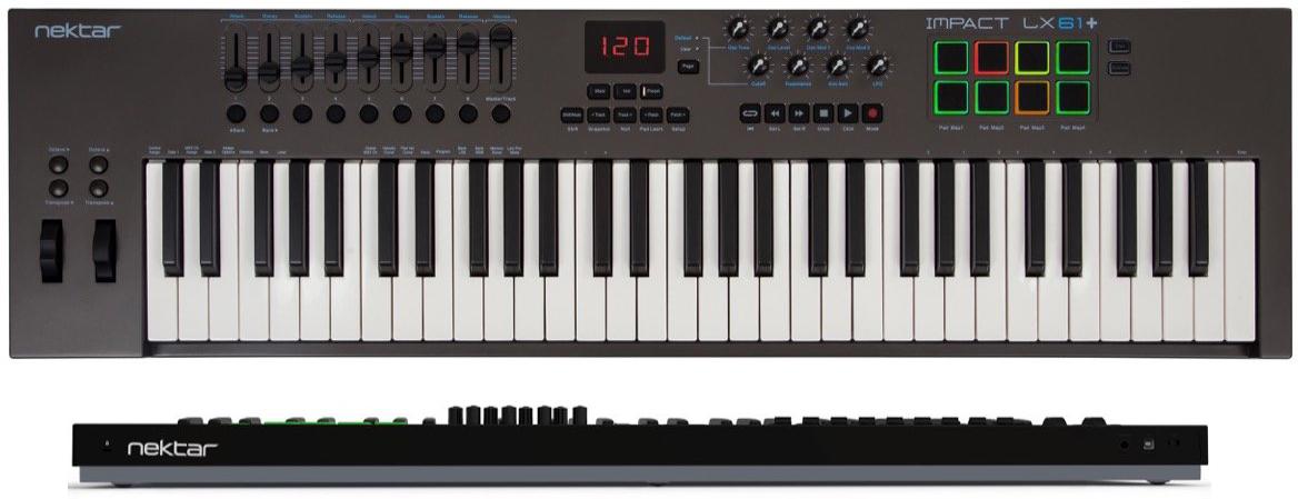 Nektar Impact LX61+ 61-Key MIDI Keyboard Controller