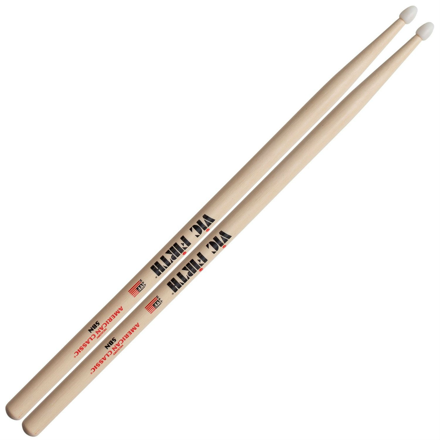 Vic Firth American Classic 5BN Nylon Tip Drum Sticks