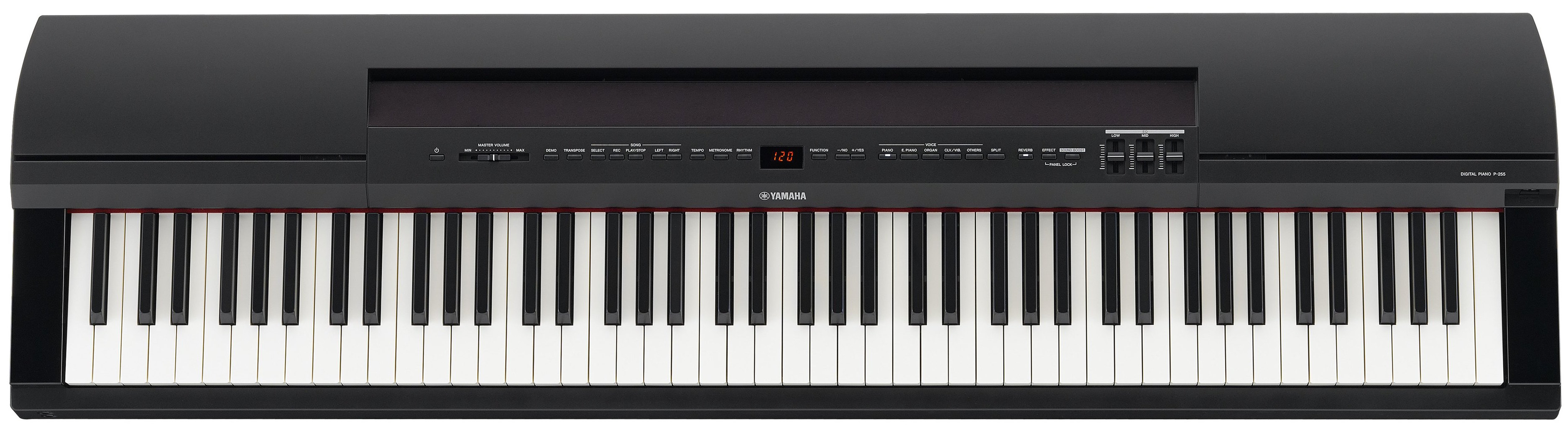 Yamaha P  Key Turn On Weighted Keys