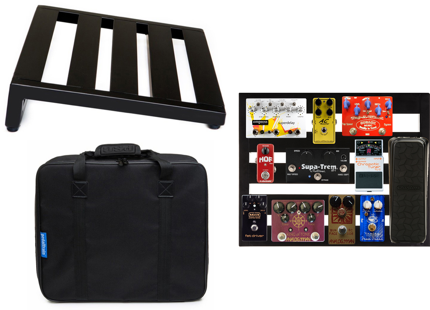 The Best Powered Unpowered Pedalboards 2018 Gearank Wiring A Pedal Board Pedaltrain Novo 18 Sc Pedalboard With Soft Case