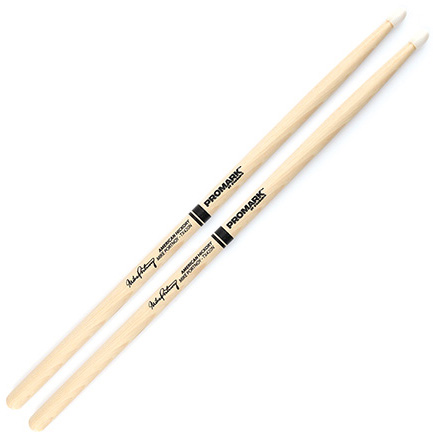 Promark Hickory 420 Mike Portnoy Nylon Tip Drum Sticks