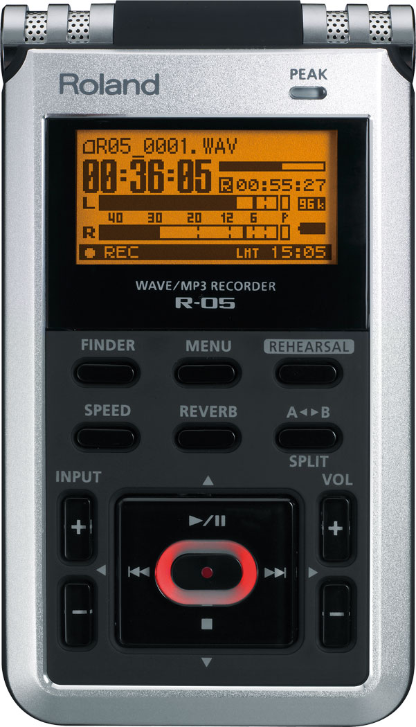 Roland R-05 Wave/MP3 Recorder
