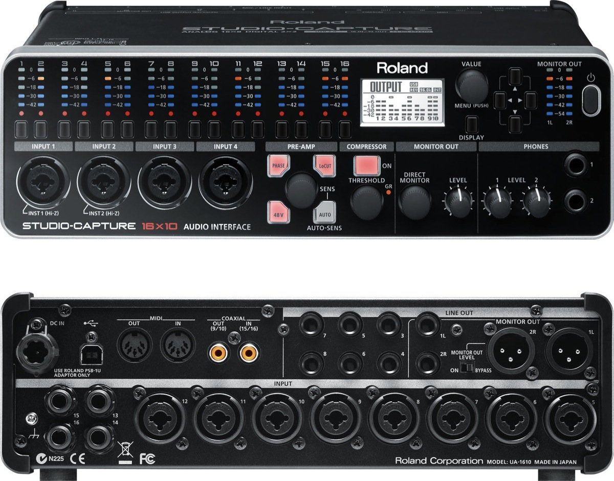 The Best Usb Audio Interfaces 4 8 16 Channel Gearank Balanced Microphone Preamplifier Get
