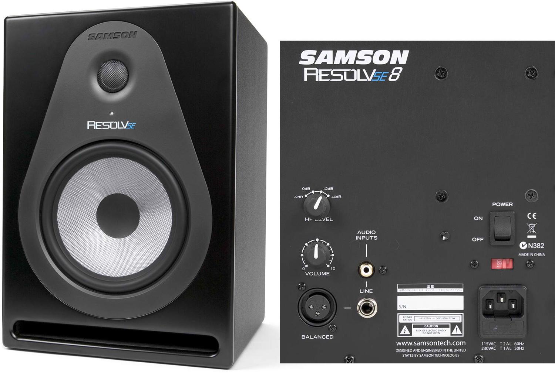 Samson Resolv SE8 Powered Studio Monitor (Pair)