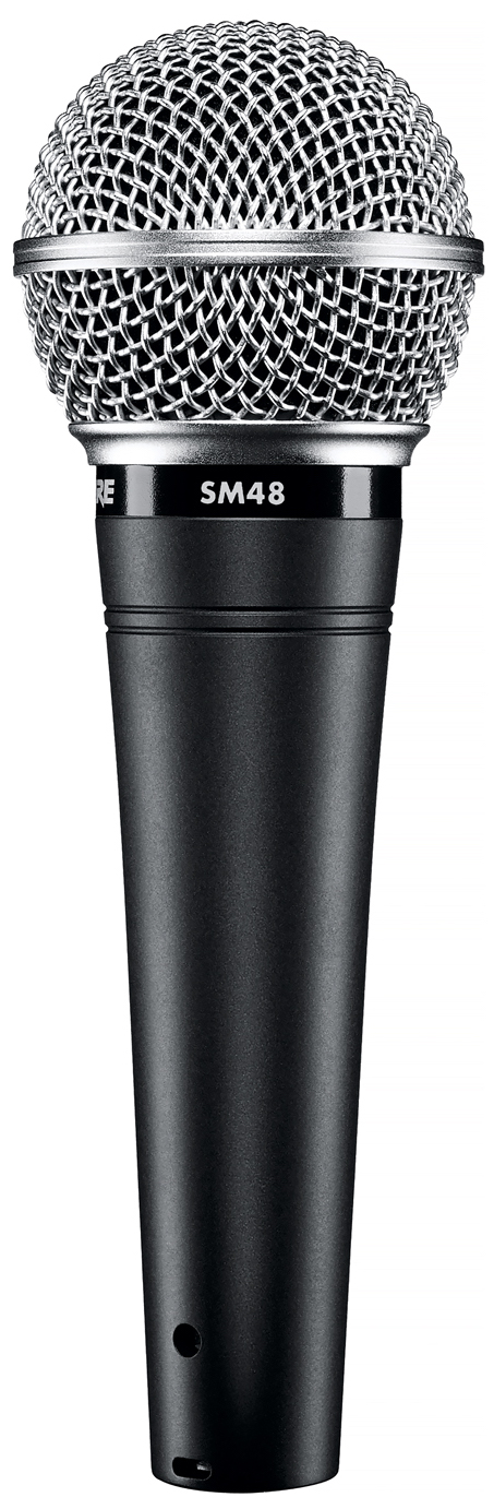 Shure SM48 Cardioid Dynamic Microphone