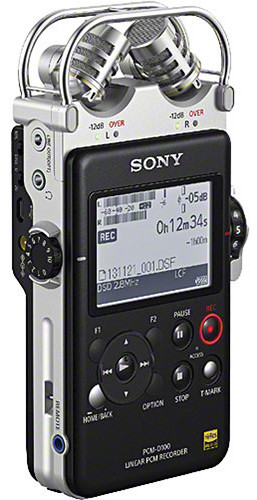 Sony PCMD100 Portable High Resolution Audio Recorder - Handheld