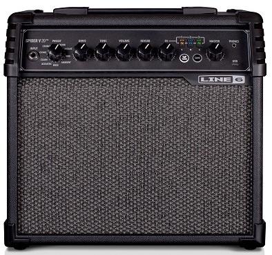 """Line 6 Spider V 20 MkII 1x8"""" 20-watt Guitar Combo Modeling Amp"""