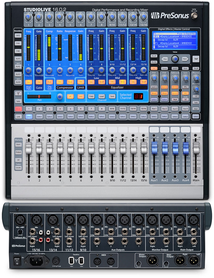 The Best Digital Audio Mixer : the best audio mixer consoles powered unpowered gearank ~ Russianpoet.info Haus und Dekorationen