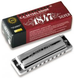 Seydel Blues Silver 1847 Harmonica - Key of C
