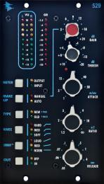 API 529 500 Series Stereo Compressor