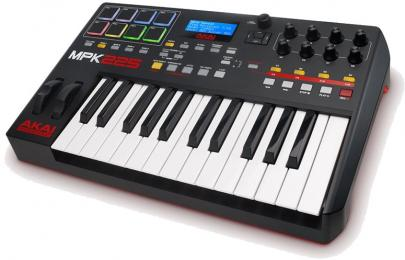 Akai Professional MPK225 Keyboard & Pad MIDI Controller