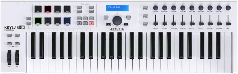 Arturia KeyLab Essential 49 Key MIDI Keyboard Controller