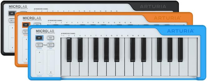Arturia MicroLab 25-Key MIDI Controller Keyboard