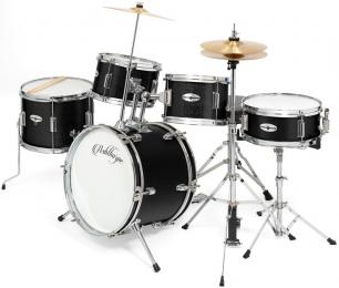 "Ashthorpe 5-Piece Kid's Beginner Drum Kit w/ 16"" Kick"
