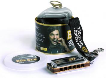 Seydel Big Six Blues Classic Harmonica - Key of C