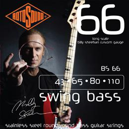 Rotosound BS66 Billy Sheehan Bass Guitar Strings
