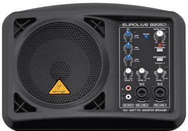 "Behringer Eurolive B205D 5.25"" 150 watt Powered Floor Monitor"