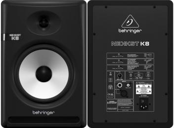 "Behringer Nekkst K8 150W 8"" Powered Studio Monitor"
