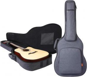 "Cahaya Reinforced 0.8"" Acoustic Guitar Padded Gig Bag"
