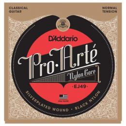 D'Addario EJ49 Pro-Arte Black Classical Guitar Strings